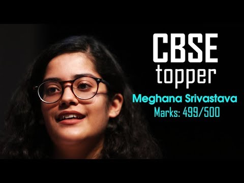 CBSE Class 12 Topper Meghna Srivastava makes it big despite tragedy during exams