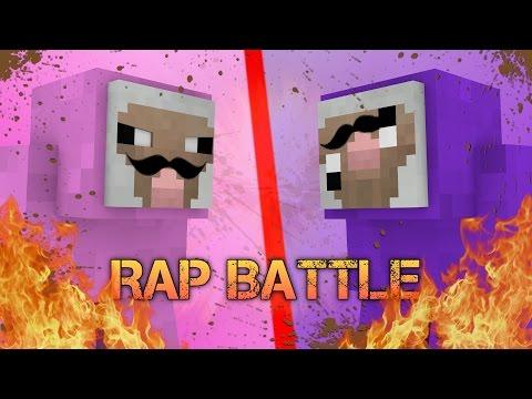 PINK SHEEP vs PURPLE SHEP (Minecraft RAP BATTLE)