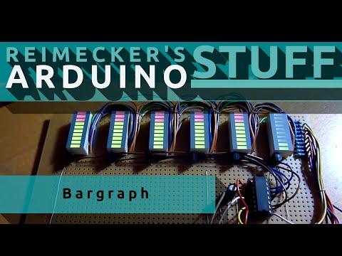 DCS : LED Matrix Balkenanzeige 6x10 (bar display) : Video 3 : Neue Anzeige Typen