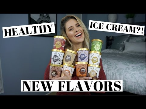 HEALTHY ICE CREAM?! | Halo Top 10 NEW Flavors and Taste Test