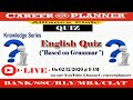 Knowledge Series-English Grammar Quiz