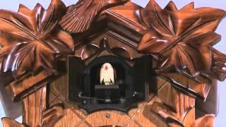 Cuckoo Clock Quartz-movement Carved-style 23cm By Anton Schneider