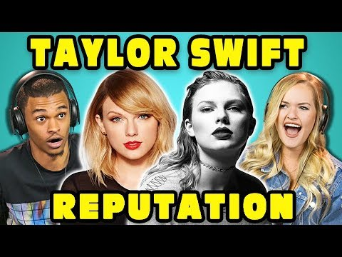 COLLEGE KIDS REACT TO TAYLOR SWIFT -...