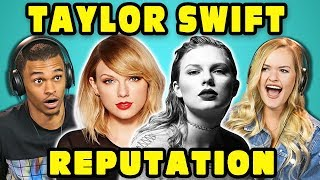 Video COLLEGE KIDS REACT TO TAYLOR SWIFT - REPUTATION (Full Album Reaction) download MP3, 3GP, MP4, WEBM, AVI, FLV Januari 2018