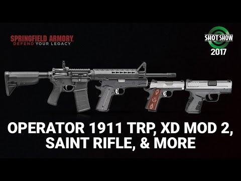 Springfield Armory New Arsenal - SHOT Show 2017 Range Day