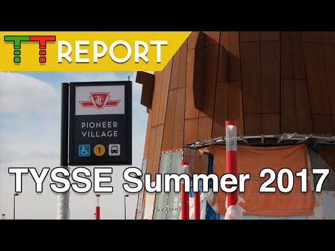 TTC News - York Spadina Subway Extension Progress July 2017