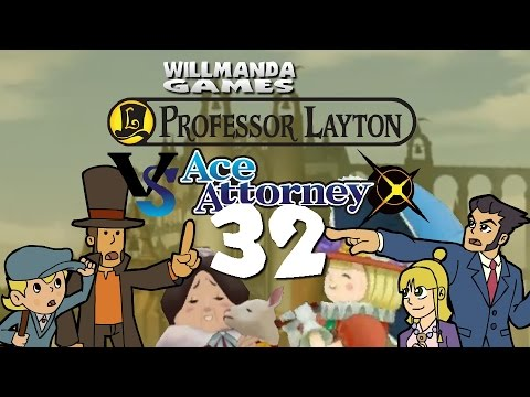 Professor Layton vs Ace Attorney - part 32 - The Courthouse Summons