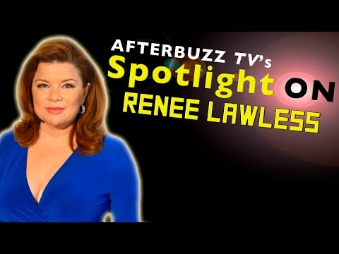 Renee Lawless   AfterBuzz TV's Spotlight On