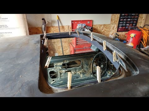 hqdefault replacing a sunroof body seal ford foxbody mustang youtube