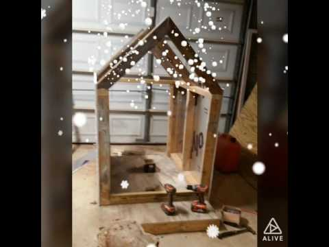 How to built a dog house using metal sidings