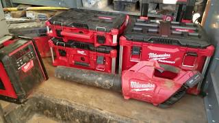 Milwaukee Tool Packout storage system. Review!!!!!!!!