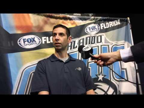 James Borrego New York Knicks Pregame Interview