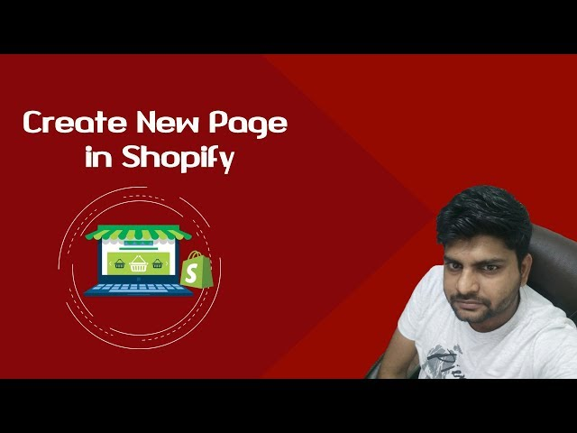 Shopify Tutorials for Beginners-2018 | How to create page in Shopify | create landing page Shopify