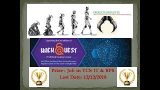 TCS Hackquest 3.0 I Contest based hiring I Software Contest I Project contest