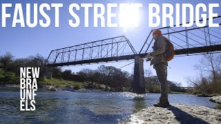 Fishing at the Faust Street Bridge - New Braunfels (2020)