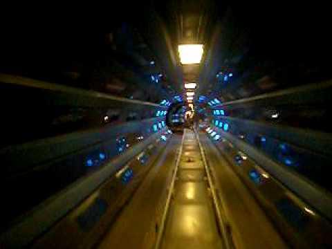 Space Mountain (Lights On) at Disney World's Magic Kingdom in Orlando, FL June 2006