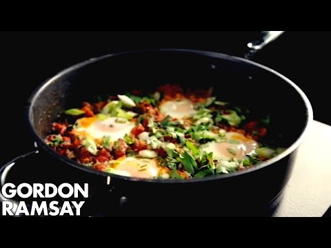 North African Poached Eggs - Gordon Ramsay