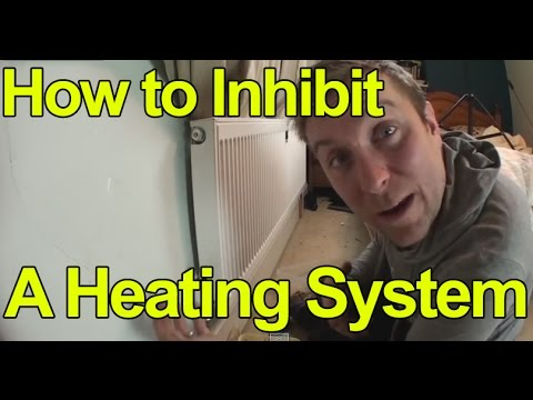 HOW TO INHIBIT A HEATING SYSTEM - ADD TREATMENT - Plumbing Tips