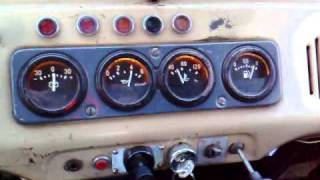 uaz andoria 4c90 ciśnienie oleju