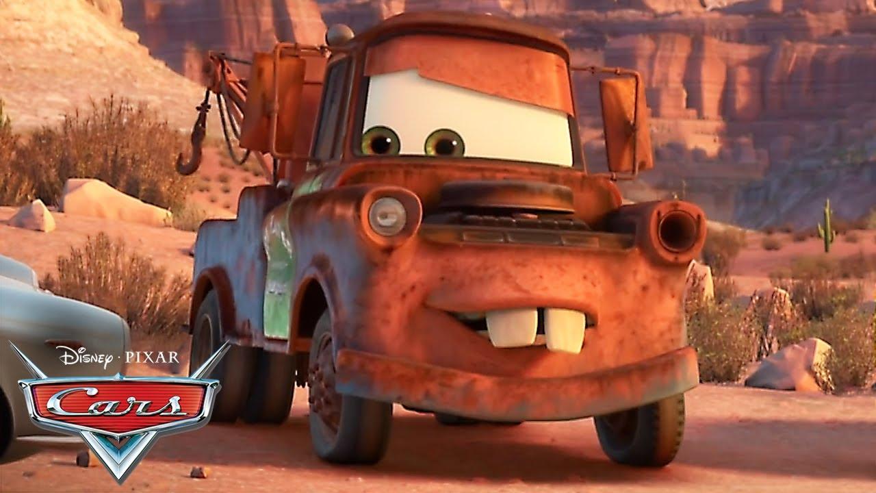 Mate arrasa en el Gran Premio de Radiator Springs! | Pixar Cars