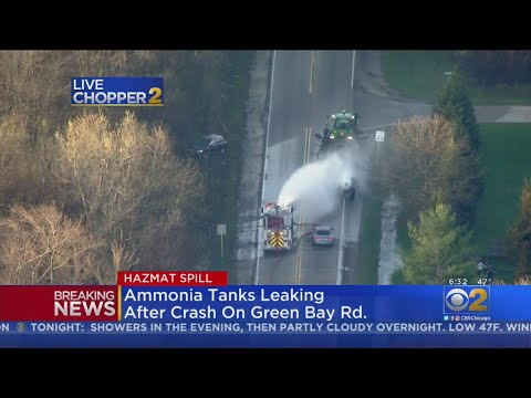 Ammonia Spill In Beach Park