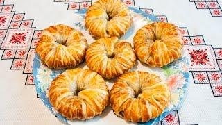 АНАНАСЫ в СЛОЕНОМ ТЕСТЕ Консервовані ананаси  в листовому тісті