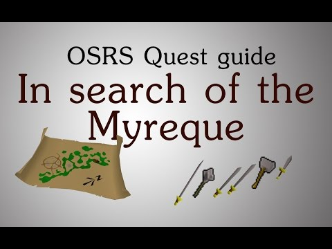 [OSRS] In search of the Myreque quest guide