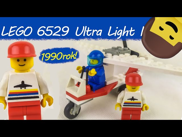 LEGO CITY 6529 Ultra Light I/ Recenzja setu z 1990 roku / KBL