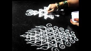 Navratri golu decoration | kolam for steps | Pooja room | Sudha Balaji rangoli