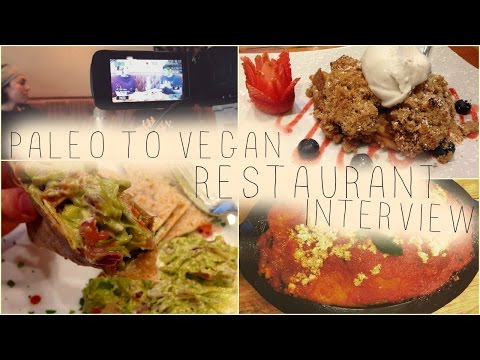 Interview of Gustorganics restaurant owner! NYC