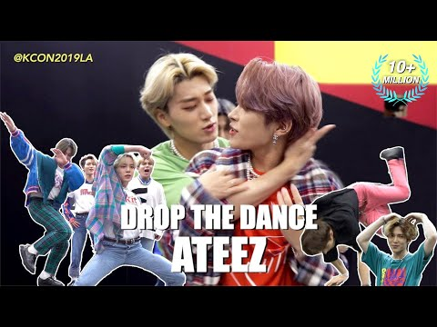 [DROP THE DANCE] #ATEEZ(에이티즈) | HIT THE WOAH/BOY WITH LUV/Señorita/WAVE etc. @KCON19LA