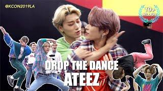 [DROP THE DANCE] #ATEEZ(에이티즈) | HIT THE WOAH/BOY WITH LUV/Señorita/WAVE etc. @KCON19LA