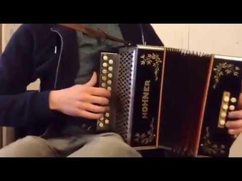 """Hohner C#/D Irish accordion """"Swing+"""" tuning  (sold)"""