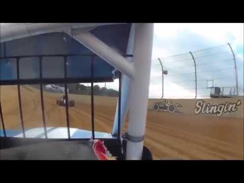 JJ Hughes In Car @ Lawrenceburg Speedway 09-17-2016