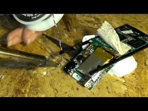 MP3 player headphone jack repair