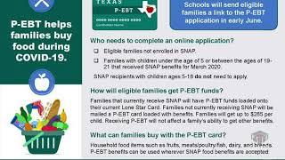 P-EBT Information: English