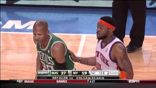 "MSG Chants ""These Refs Suck"" at Knicks Playoff game vs. Celtics 4/22/11"