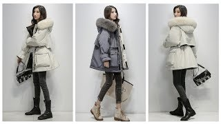 Покупки одежды с AliExpress -  Зимняя куртка