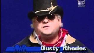 Dusty Rhodes promo on the Bunkhouse Stampede