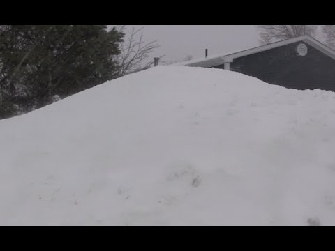 8 Feet of Snow - Gander Newfoundland Snowstorm