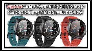 Vigorun Smart Watch ID216 (Same As UMIDIGI UWatch GT and LETSCOM Smart Watch!) REVIEW