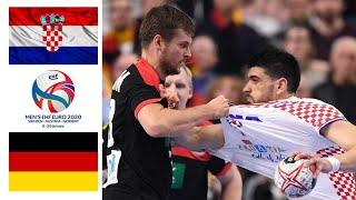 Croatia - Germany ● Full Game Highlights ● Handball EHF EURO 2020