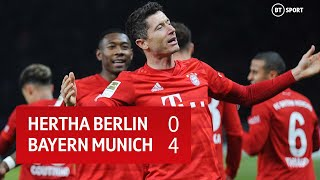 Hertha Berlin vs Bayern Munich (0-4) | Bundesliga Highlights