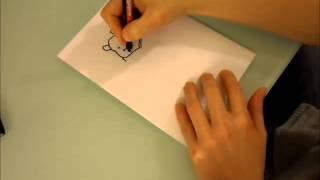 wie zeichnet man Winnie Puuh how to draw winnie the pooh