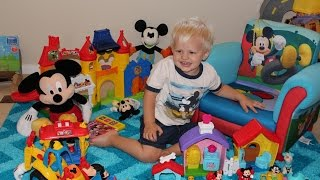 Mickey Mouse Toys Playtime for Michael
