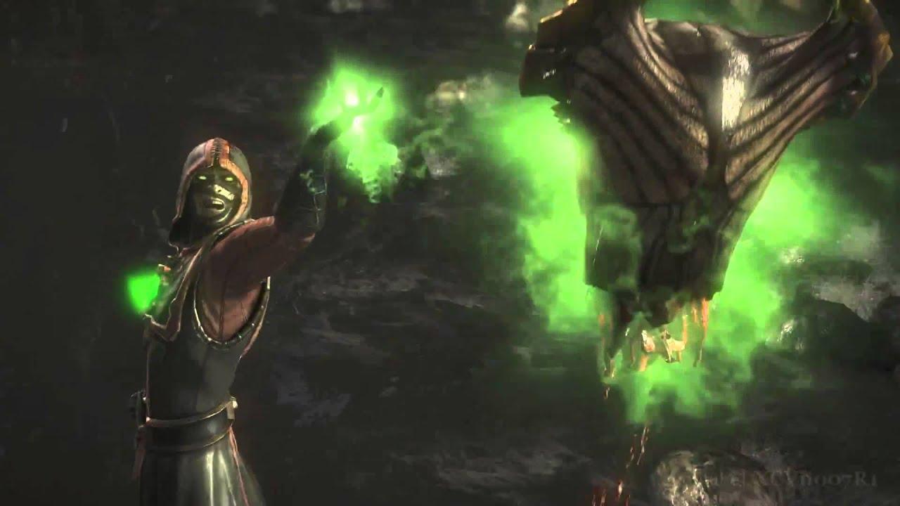 Mortal Kombat X Ermac Head Out Fatality Hd 60fps Mkx Youtube