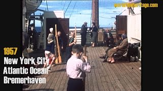 Video 1957 - New York City - Atlantic cruise - Bremerhaven (MS Gripsholm) download MP3, 3GP, MP4, WEBM, AVI, FLV Agustus 2017