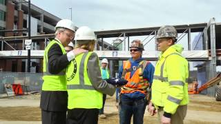 Topping Out Ceremony - Building On The Promise