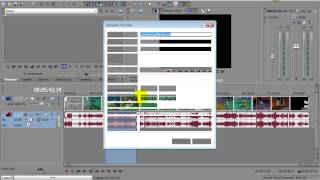 как загрузить видео на YouTube через Sony Vegas