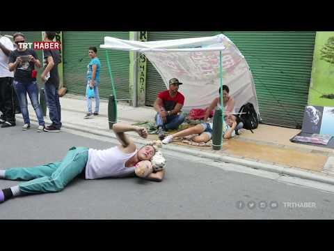 Kolombiya'da Tembellik Günü kutlandı